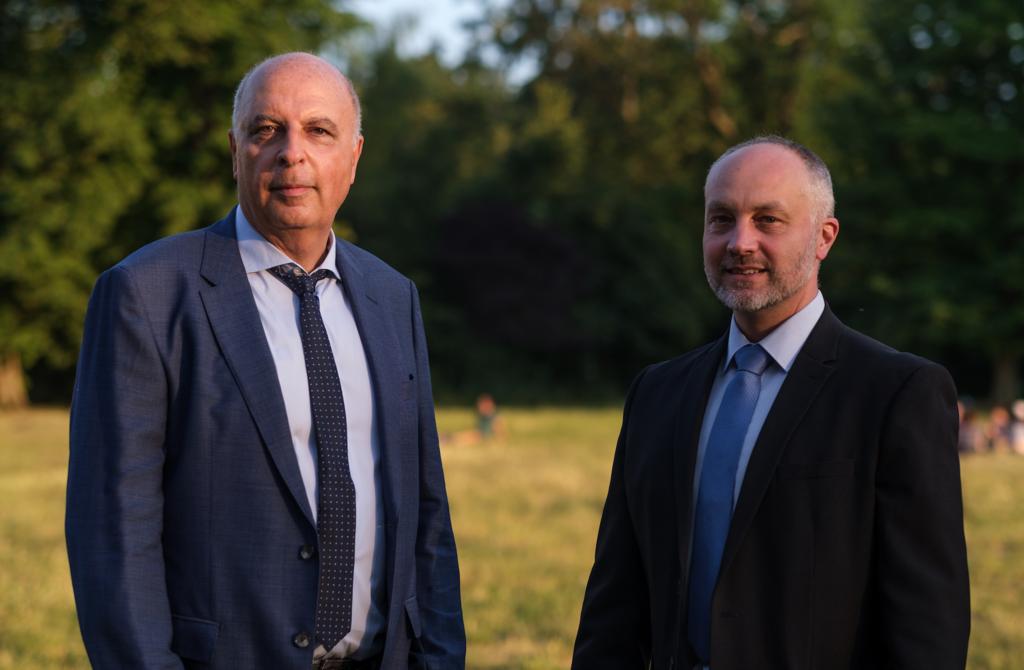Gilles Hagege et Frederic Lamprecht  pour l'avenir de Nogent