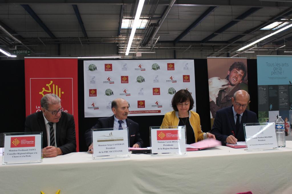 Signature de la convention cadre de partenariat